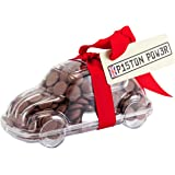 """Car - """"Piston Power!"""" Chocolate Car Gift. From the Belgian Milk Chocolate 'Button-its' Gift range."""