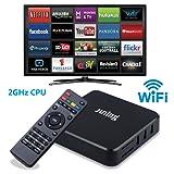 Juning Andriod 6.0 TV BOX, Amlogic S805 1GB/8GB Quad Core 2GHz CPU Support 4K H.265 WiFi LAN Smart TV BOX