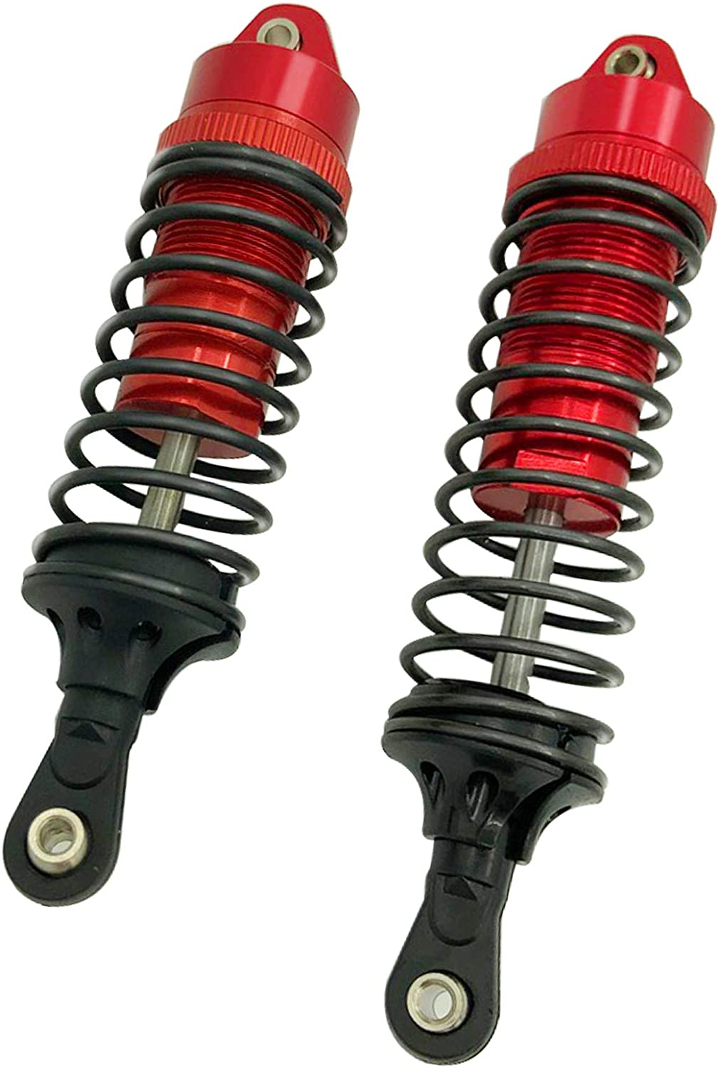 HOPLEX Aluminum Front /& Rear Shock Absorber for 1//10 Traxxas Slash 4x4 4WD 4PCS Durable Upgrade RC Car Shocks Replace 5862
