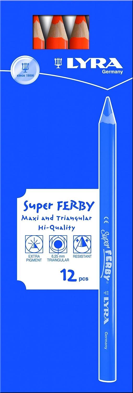 LYRA Super Ferby Kartonetui mit mit mit 12 Farbstiften, kupfer B004BKVD1A | Schnelle Lieferung  291fe7