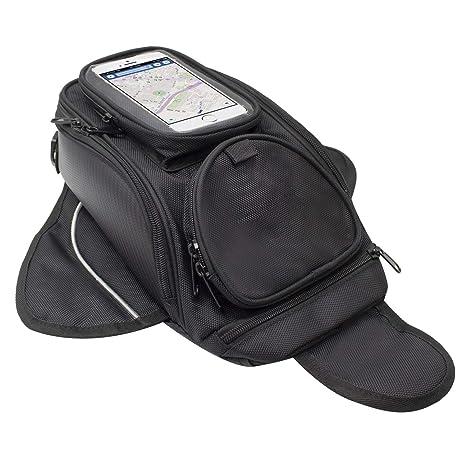f8e98d17472 Motociclo Borse serbatoio - Oxford borsa impermeabile con sacco nero per  motocicletta - Borsa magnetica forte