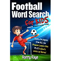 Football Word Search for Kids: 2018/19 Premier League Teams
