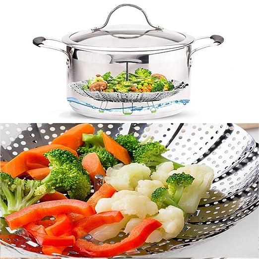 Steamer Cesta para cocinar al vapor (Instant Pot Accesorios ...