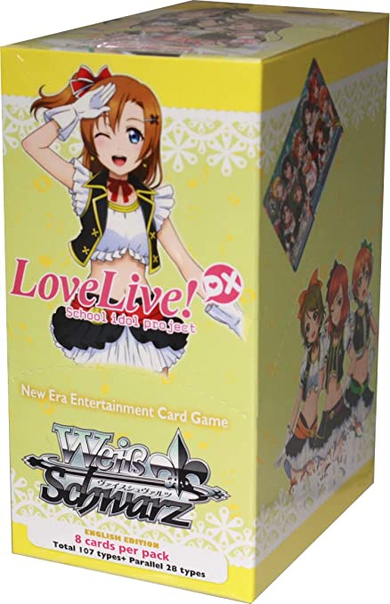 Amazon Weiss Schwarz Love Live DX School Idol Festival ENGLISH