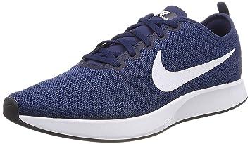huge discount ac438 a097d Nike 918227 400 Dualtone Racer Running Shoes , Midnight Navy Blue / White -  Coastal Blue