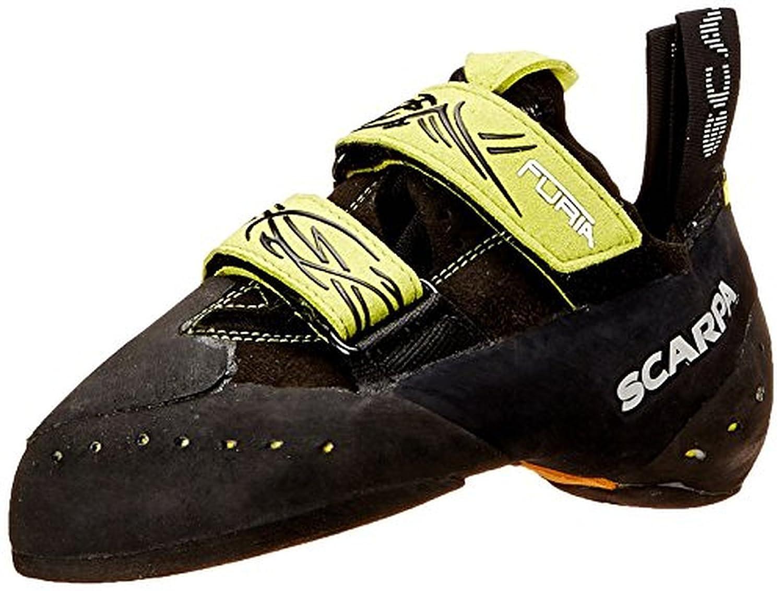 Scarpa Furia Climbing Shoes & Etip Lite Gripper Glove Bundle