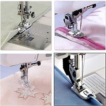 Juego de 11 piezas de prensatelas para máquina de coser ...