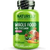 NATURELO Whole Food Multivitamin for Women - with Vitamins, Minerals, & Organic Extracts - Supplement for Energy and Heart He
