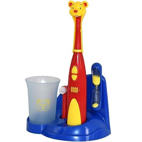 kindergerechte Cepillo de dientes eléctrico Cepillo de dientes para niño con reloj de arena Heru ZB