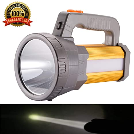 3000LM Super Bright LED Searchlight Spotlight Rechargeable Flashlight UK