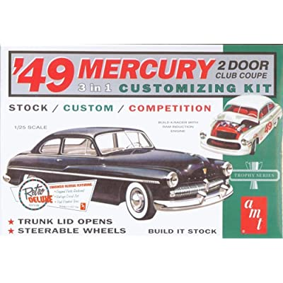 AMT 1949 Mercury Club Coupe 1/25 Scale Model Car Kit: Toys & Games