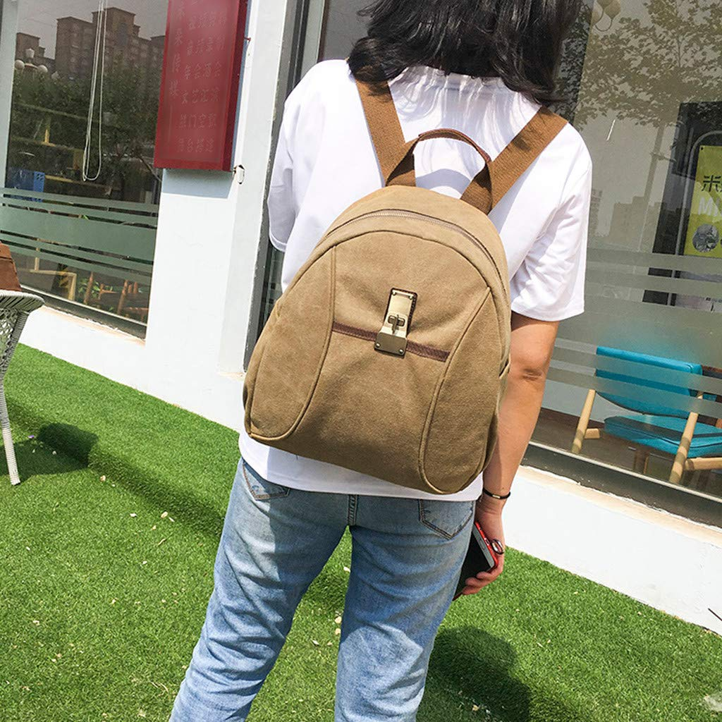 a8ca7b034da2 Amazon.com: YEZIJIN Men Women Cavans Vintage Casual Shoulder School ...
