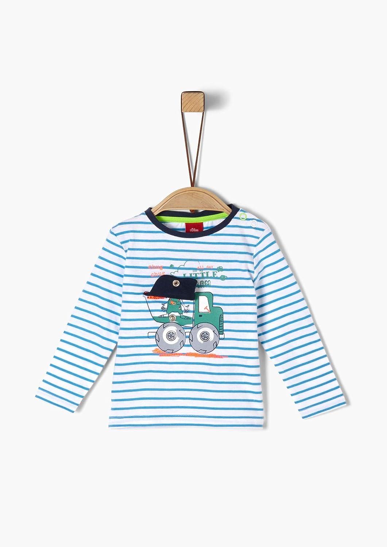 s.Oliver T-Shirt Langarm Camiseta para Beb/és