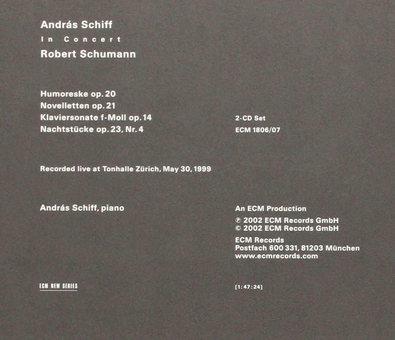 Andras Schiff: In Concert