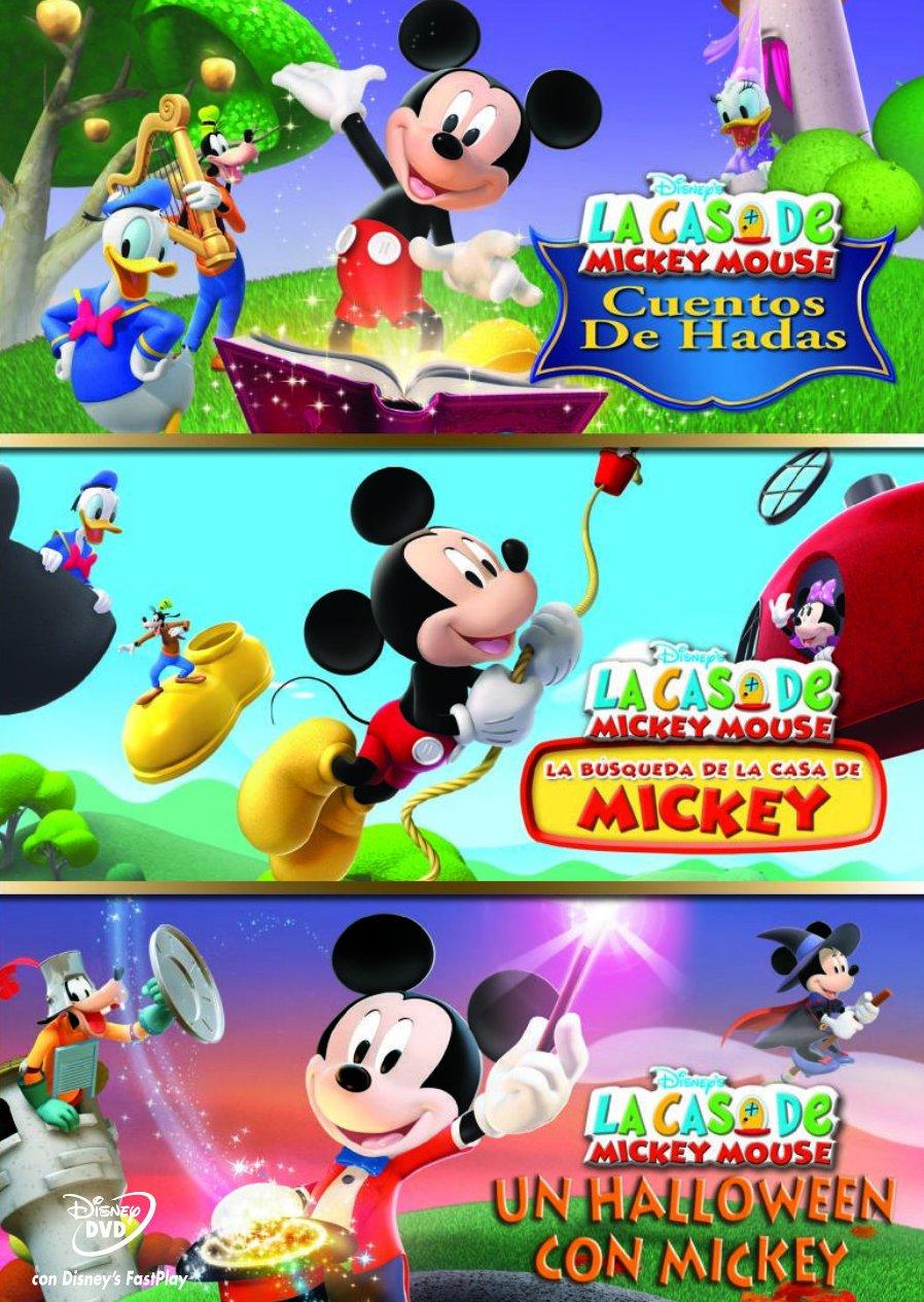 Pack La Casa De Mickey Mouse (3 Dvd): Amazon.es: Varios