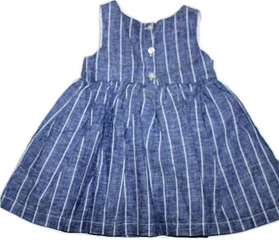 38bfac0eb38 Amazon.com  baby Gap Infant Girl s Chambray Denim Dress (12-18 Mo.)   Clothing