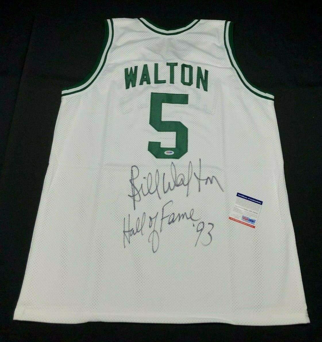 Sports Mem, Cards & Fan Shop Autographs-original Bill Walton Signed Boston Celtics 8x10 Photo *coa* Authentic Autograph Ucla Hof