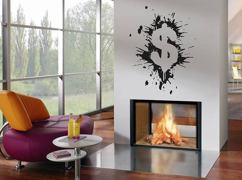 Amazon Wall Decor Vinyl Decal Sticker Dollar Sign Money Tz397
