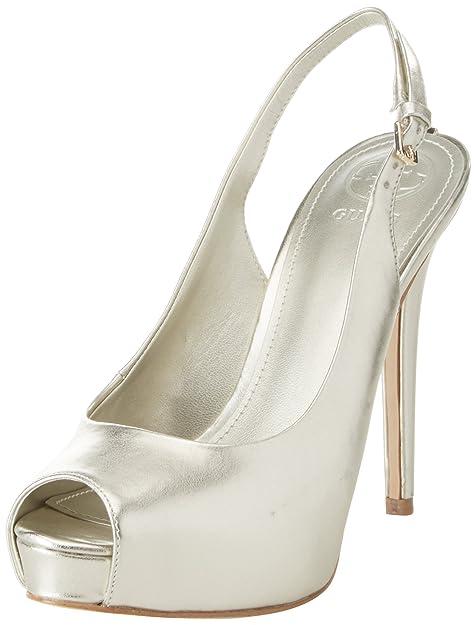 Dress Tacco Con Sling Footwear BackScarpe Guess Col Plateau Donna w80ONnPkX