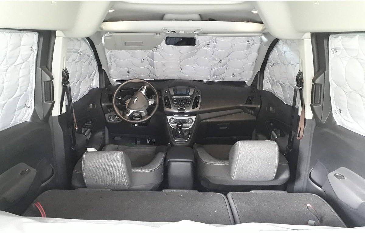 Amazon.es: YATOO Extreme Cortinas opacas y térmicas para Fiat Qubo – Peugeot Bipper – Citroen Nemo (8 ventanas)
