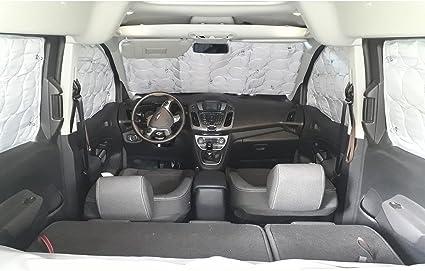 Amazon.es: YATOO Extreme cortinas opacas y térmicas para Fiat Doblo – Opel Combo Tour corto (L1H1) con Hatchback y 2 puertas correderas – desde 2010 (8 ventanas)