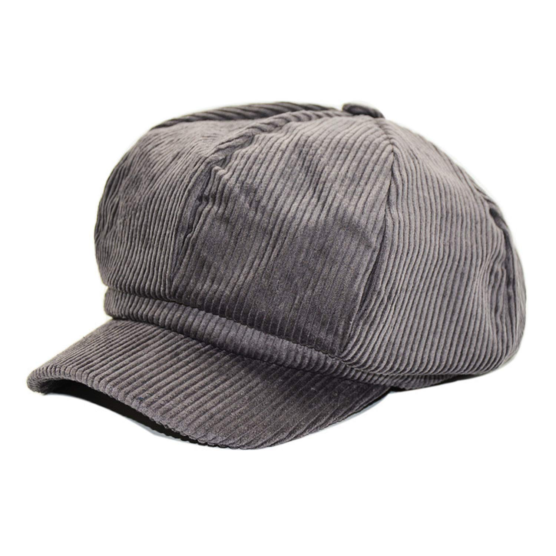 2019 Autumn Winter New Hot Fashion Casual Simple Vintage Warm Berets Corduroy Solid Color Painter Caps Hats