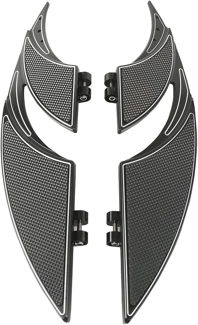 XFMT Motorcycle Passenger Rear Footboard Bracket Kit Fit For Harley Touring 1993-2020