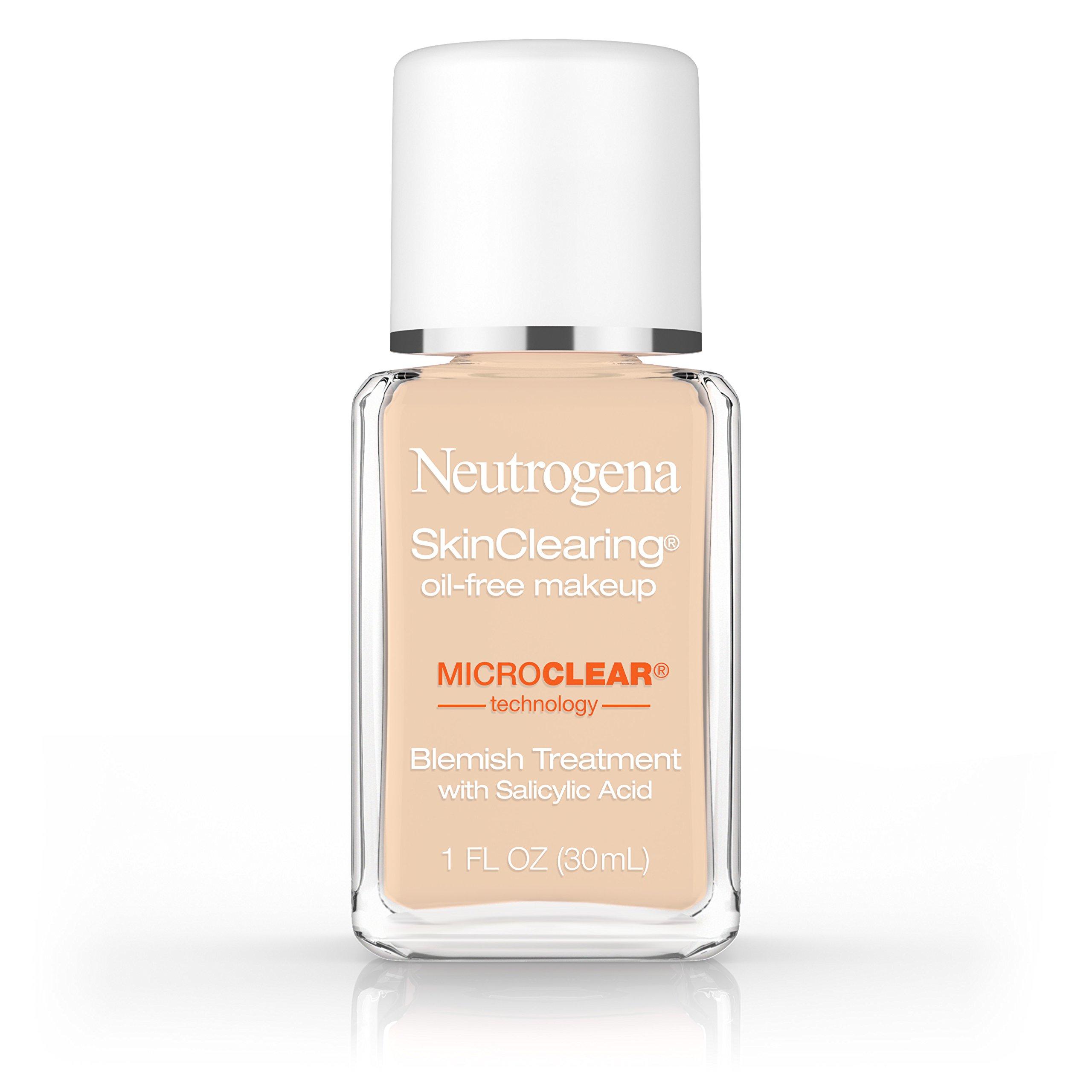 Neutrogena Skinclearing Makeup, 30 Buff, 1 Fl. Oz.