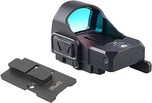 Meprolight MicroRDS Red Dot Sight (para pistolas ópticas listas) con montaje QD para IWI Masada