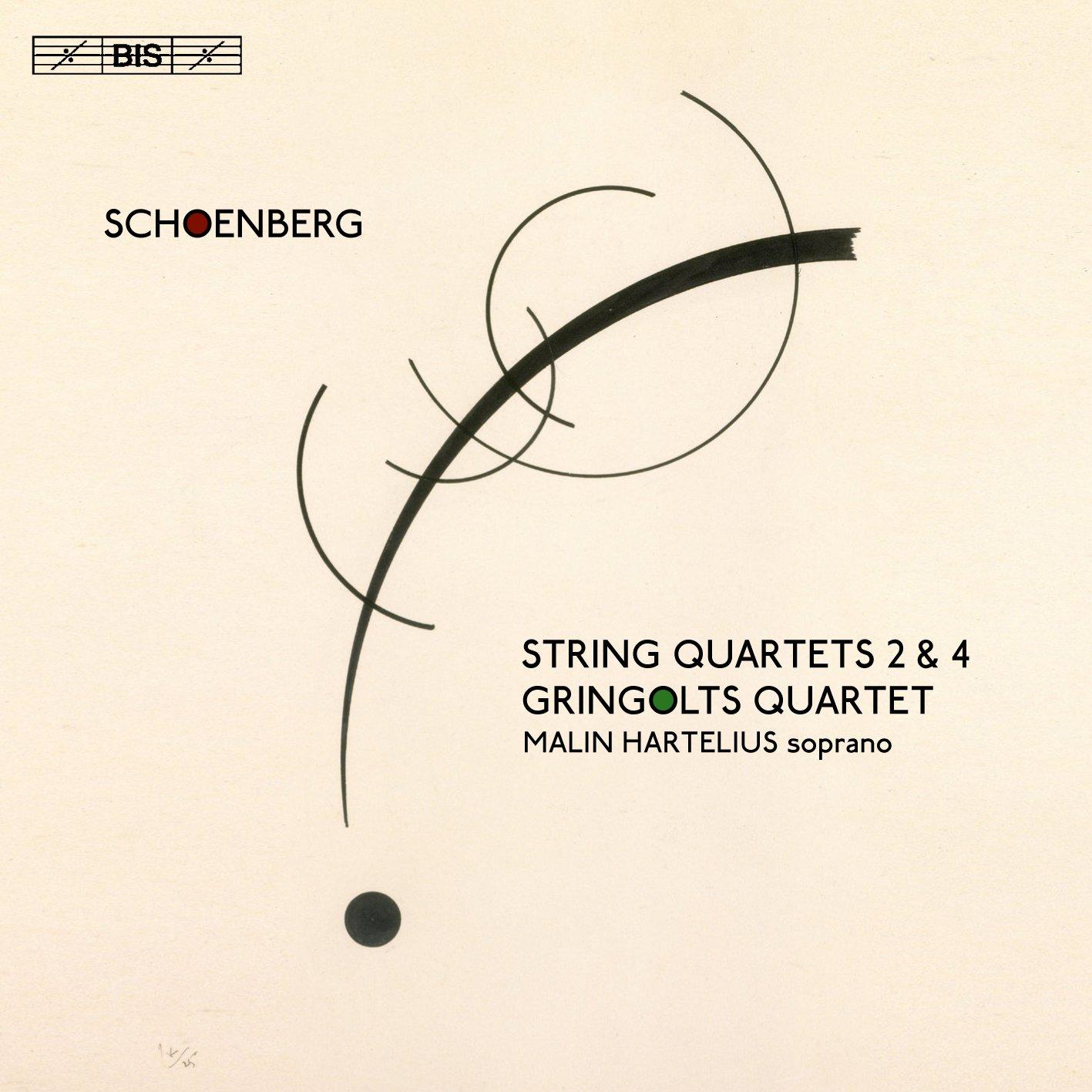 SACD : Gringolts Quartet - Malin Hartelius - String Quartets 2 & 4 (Hybrid SACD)