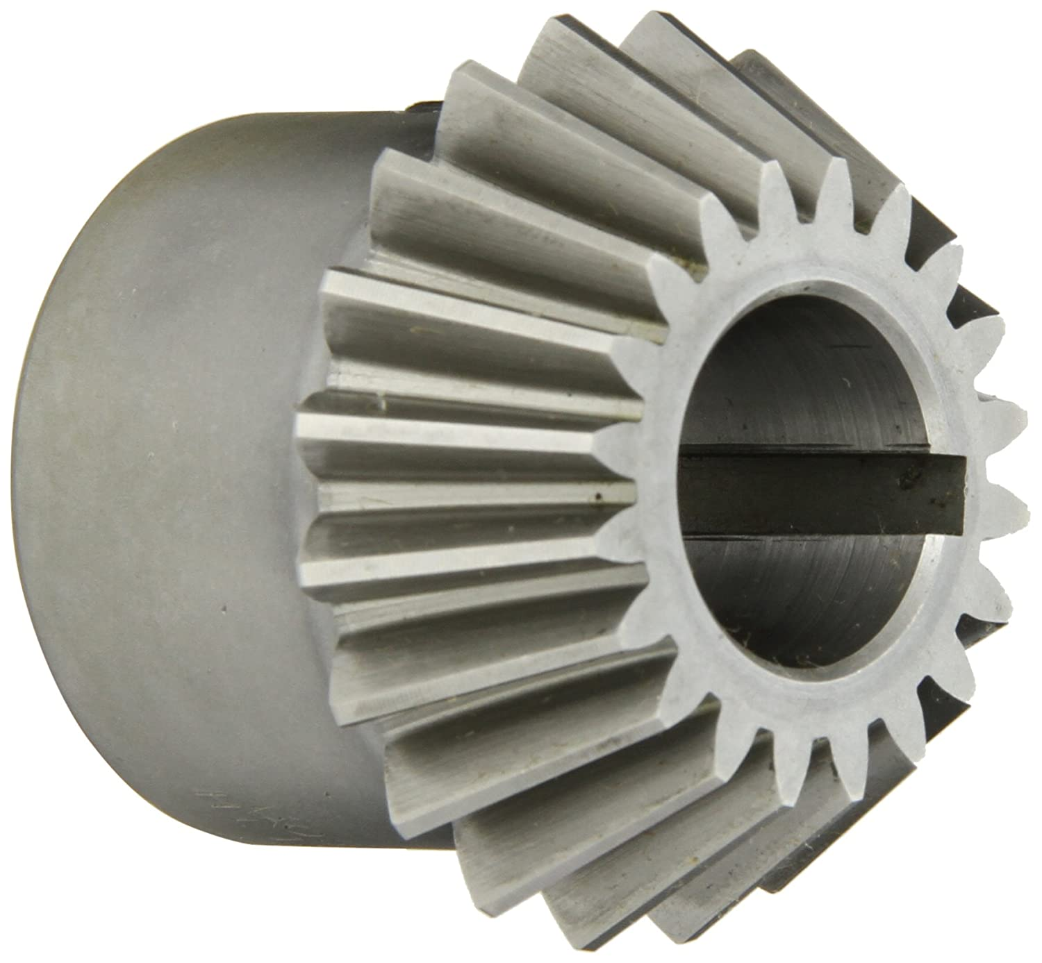 20 Teeth Straight Bevel Steel with Case-Hardened Teeth 10 Pitch 2:1 Ratio 0.875 Bore 20 Degree Pressure Angle Keyway Boston Gear HL155Y-P Bevel Pinion Gear