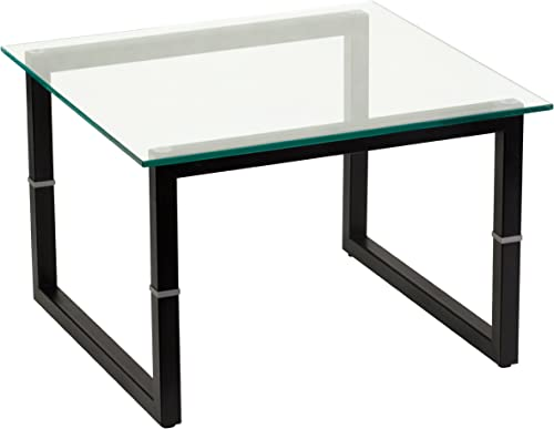 Flash Furniture Glass End Table