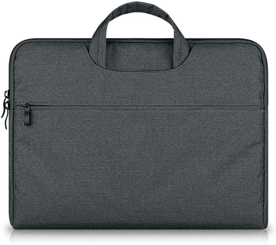 Portable Notebook Computer Bag Light Briefcase Business Large Capacity Handbag Ultra-Thin 15.6 Inch Computer Bag,C
