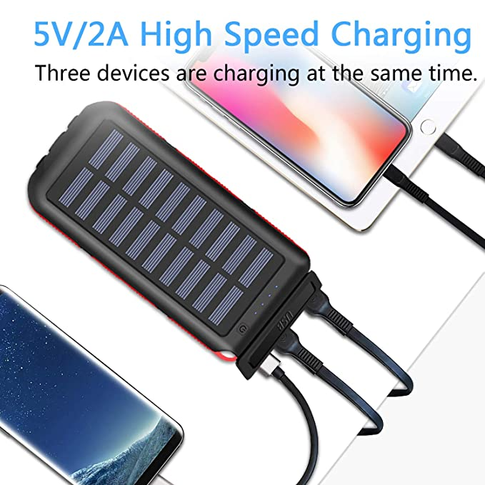 Power Bank Portable Phone Charger solar image 1