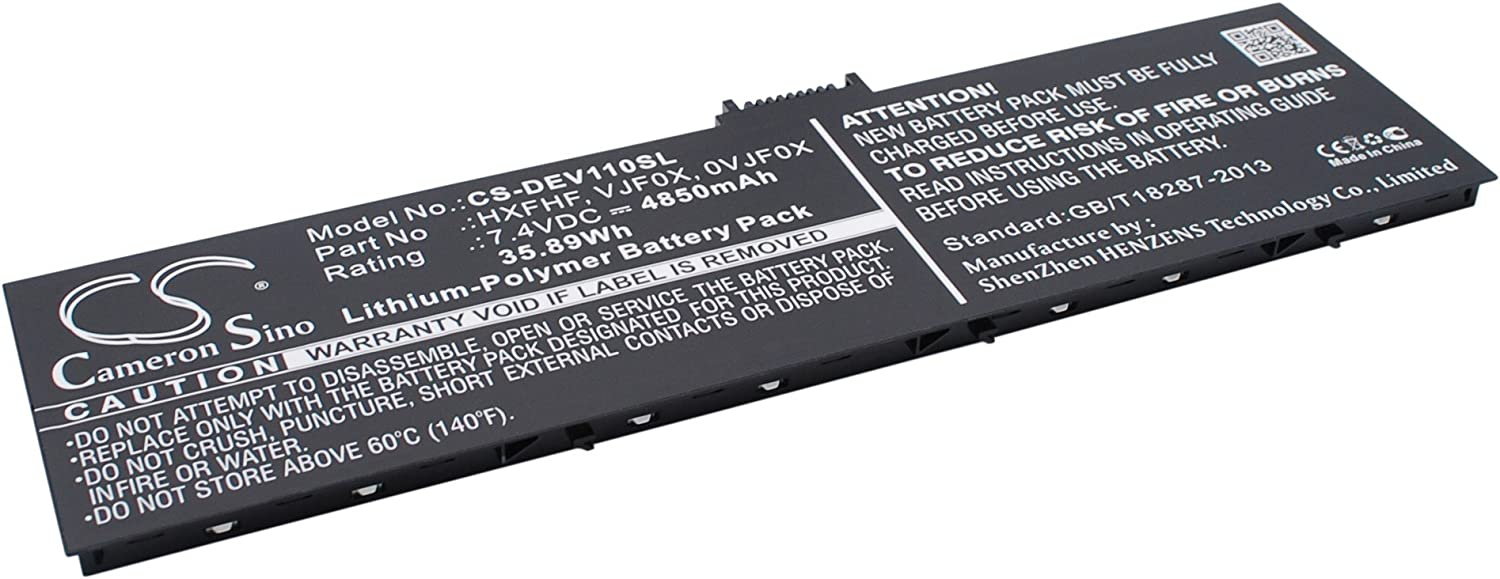 Cameron Sino Replacement Battery for DELL 0VJF0X Venue 11 Pro 7130 Junction