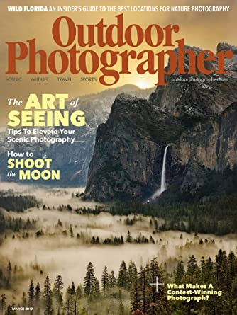 outdoor photographer magazine shoot digital like ansel adams march 2010