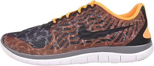 Nike Free 4.0 Print Zapatillas de Correr para Mujer, (Negro/Negro ...