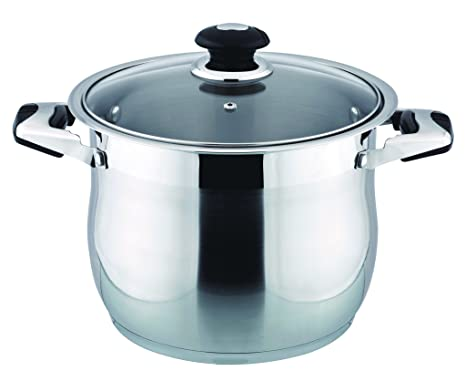 Amazon.com: Profesional 18/10 Acero Inoxidable 30 Quart Olla ...