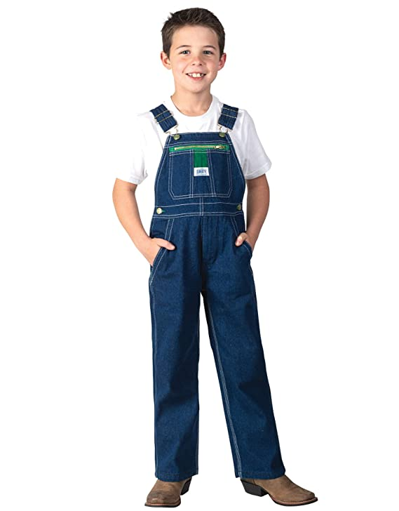 Liberty Big Boy's Denim Bib Overall, Rigid Blue, 14 best boys' overalls