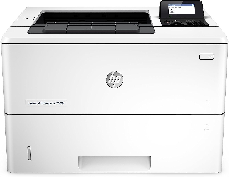 HP Laserjet Enterprise M506n Laser Printer with Built-in Ethernet (F2A68A) (Renewed)