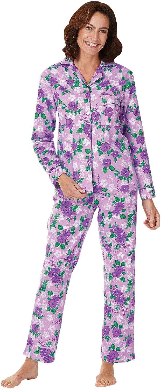 Floral Flannel Pajamas