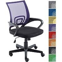 CLP Fauteuil de bureau Genius, siège de bureau, tissu à maille réspirant, siège pivotant et ajustable en hauteur, différentes couleurs disponible