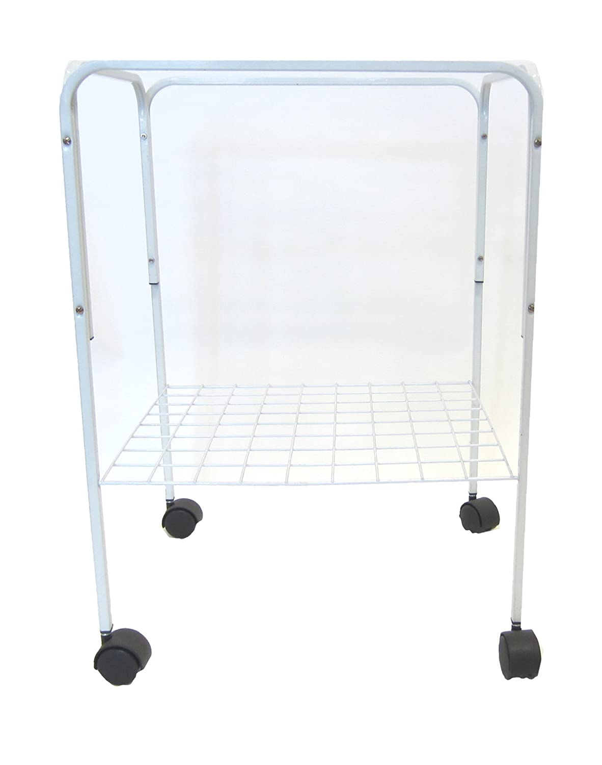 YML 4924WHT Bird Cage Stand, White YML GROUP INC