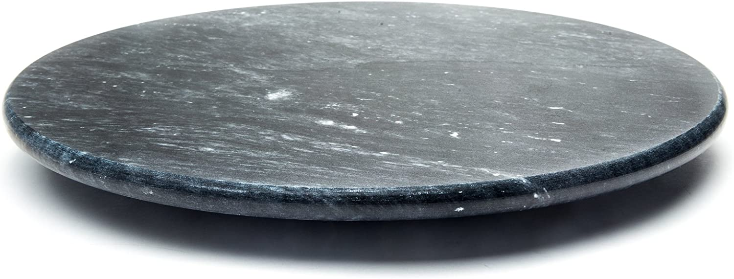 Amazon Com Fox Run Marble Lazy Susan Black 3838com Home Kitchen