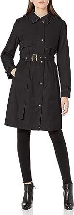 Calvin Klein Women's Hooded Trenchcoat