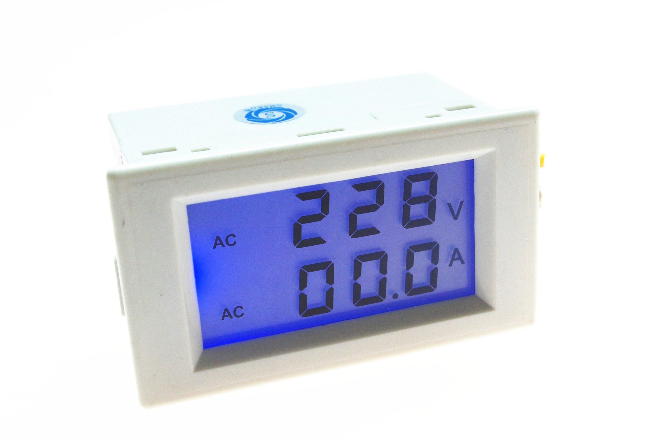 SMAKN AC 200-500V/50A Digital LCD Display Voltmeter Amperemeter Volt Gauge+Current Measure Sense Resistor by SMAKN (Image #1)