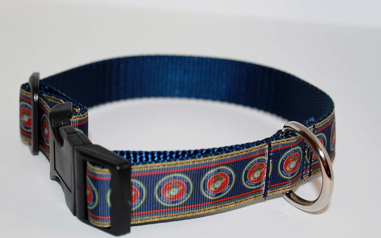 USA dog collar Semper-Fi Dog collar USA Marines Dog collar Marines collar