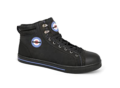 Lambretta Mens Womens Safety Steel Toe Midsole Lace Up Work Boots UK 7 d2a05f179