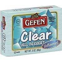 Gefen Clear Unflavored Jello, 3oz (1 Pack)