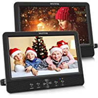 """WONNIE 10.5"""" Two DVD Players Dual Screen for Car Portable CD Player Play a Same or Two Different Movies with Two…"""